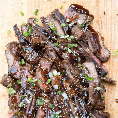 Grilled Steak Teriyaki