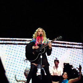 MADONNA #2 by Paula NoGuerra - People Musicians & Entertainers ( music, concert, musician, madonna, portugal, entertainer, entertainment,  )