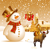 Free Merry Christmas Happy Theme APK for Windows 8