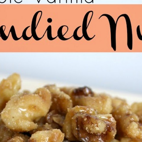 Maple-Vanilla Candied Nuts