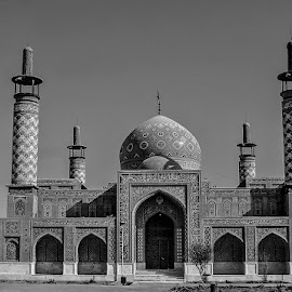 by Mohsin Raza - Black & White Buildings & Architecture