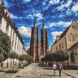 Wroclaw by Adam Lang - Buildings & Architecture Places of Worship ( church, cathedral island, cathedral, wroclaw, poland )