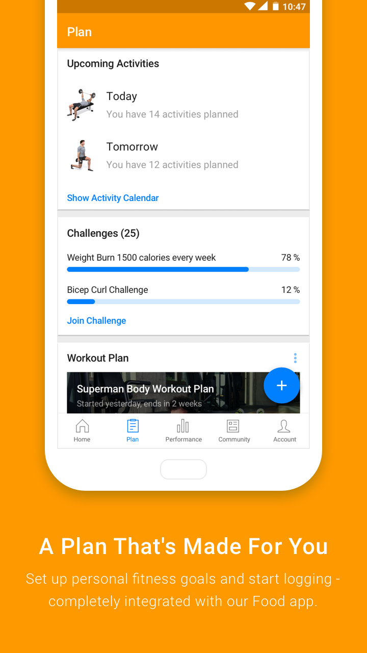 Virtuagym Fitness Tracker - Home & Gym Screenshot 3