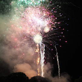 Boom by Keith Hazzard - Public Holidays July 4th ( holiday, night photography, fireworks, july 4th )