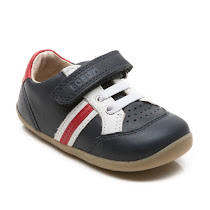 Bobux Trackside Stripe Trainer VELCRO
