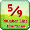 Number Line Fractions Games