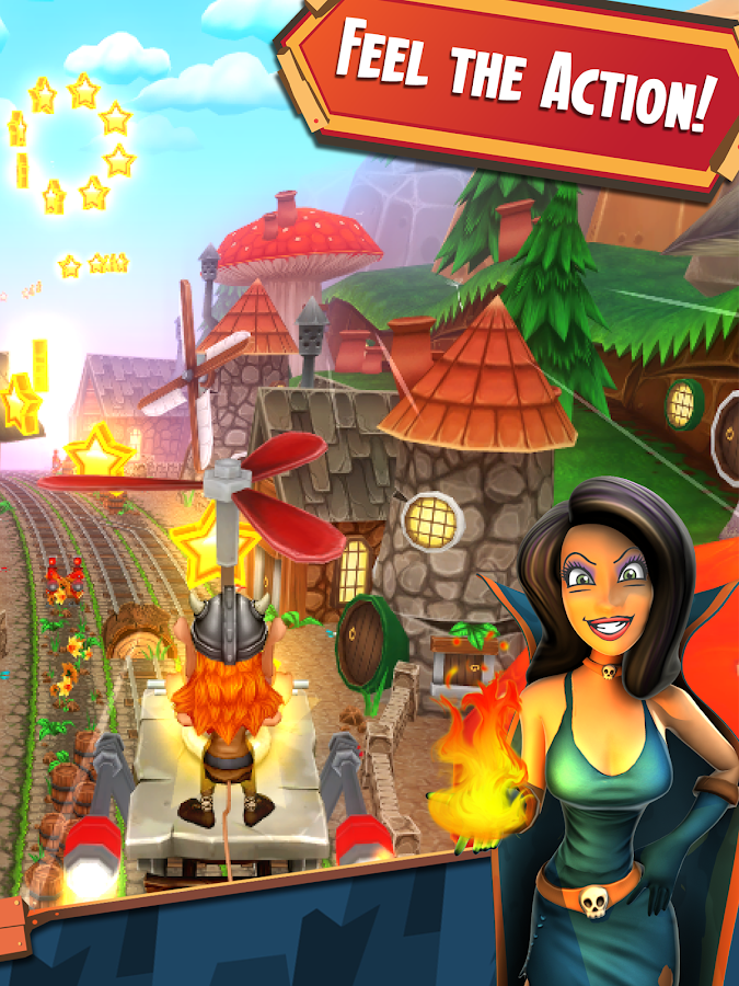 Hugo Troll Race 2. Screenshot 8