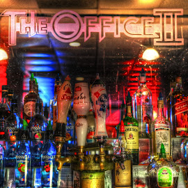 office 2 by Fraya Replinger - Food & Drink Alcohol & Drinks ( beer, colors, night, bar, liquor )