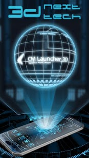 App 3D Next Tech Theme Launcher for Huawei Samsung APK for Kindle