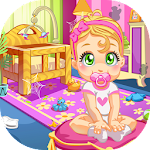 Baby Doll House Cleaning - Home cleanup game Icon