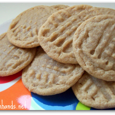 World's Easiest Peanut Butter Cookies