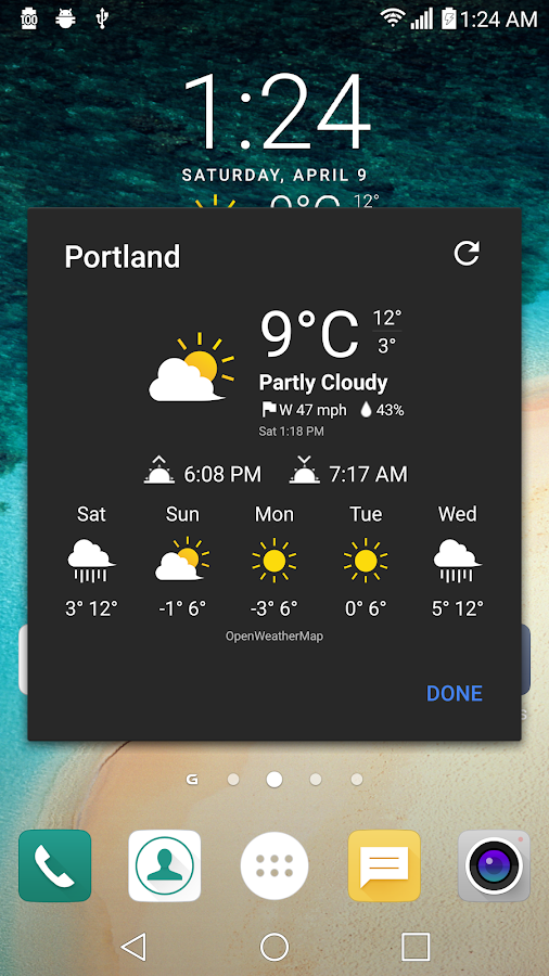 UX 5 Weather Icons for Chronus Screenshot 1