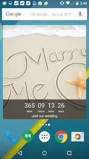 Wedding Countdown Widget for pc