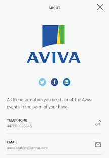 Aviva Events - screenshot