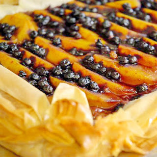 Phyllo Dough Dessert With Peaches Recipes