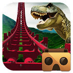 Real Dinosaur RollerCoaster VR Icon