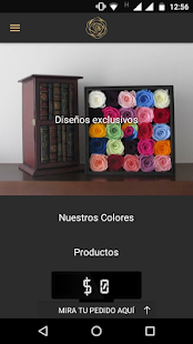 Colombian preserved flowers - screenshot