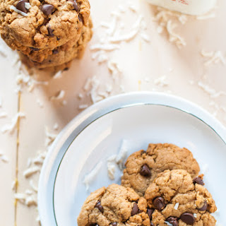 Healthy Coconut Chocolate Chip Cookies