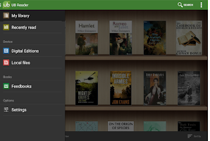 Screenshot of Universal Book Reader
