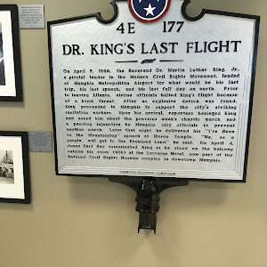 DR. KING'S LAST FLIGHT On April 3, 1968, the Reverend Dr. Martin Luther King, Jr., a pivotal leader in the Modern Civil Rights Movement, landed at Memphis Metropolitan Airport for what would be his ...