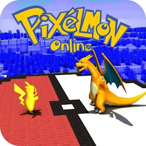 Pixelmon world (craft & build) For PC