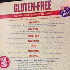 Their gluten free menu