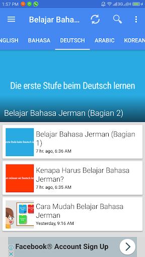 Aplikasi Belajar Bahasa screenshot 4