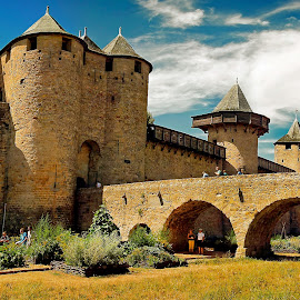 Carcassonne by Gérard CHATENET - Landscapes Travel