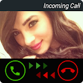 App Fake Call Girlfriend Prank HD apk for kindle fire