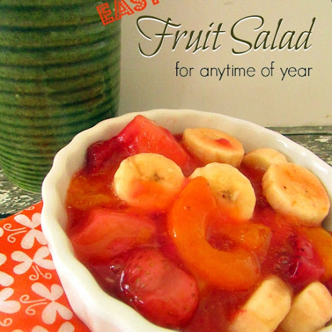 Anytime Fruit Salad EASY Recipe!