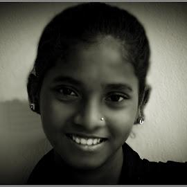 Kiran 2 by Prasanta Das - Babies & Children Child Portraits ( girl, young, portrait )