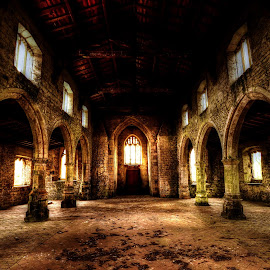 The Haunting by Simon O'Neill - Buildings & Architecture Decaying & Abandoned ( building, church, architecture, haunted, decay, abandoned )