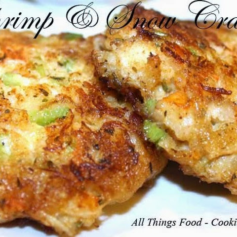 Shrimp and Snow Crab Cakes