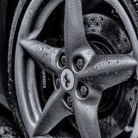 by Bojan Bilas - Black & White Objects & Still Life ( hdr, summer, finland, transportation, rain )