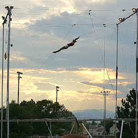 Old Americanaa Trapeze by David Durham - Novices Only Portraits & People