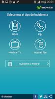 Screenshot of Soporte Movistar