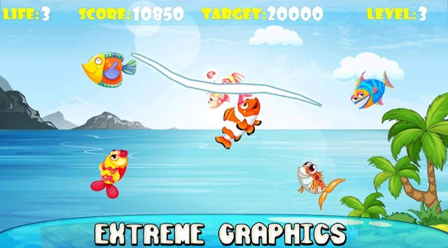 Ninja Fish – Fishing Cut, Fish Cutting Games APK screenshot thumbnail 9