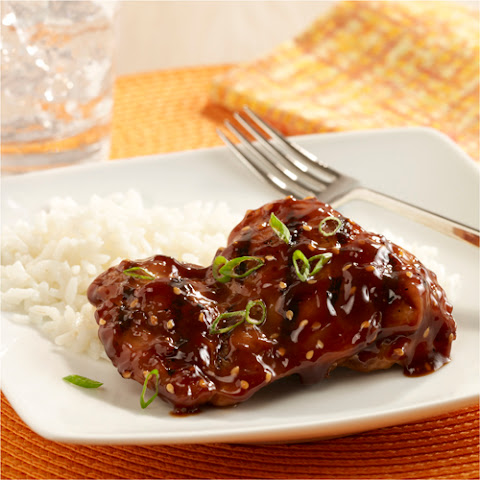 Sweet and Spicy Asian BBQ Chicken