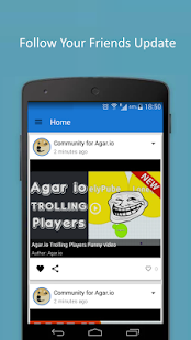 Community App for Agar.io - screenshot