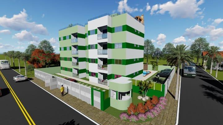 Apartamento com 2 dormitórios à venda, 55 m² por R$ 110.000,00 - Village Jacumã - Conde/PB