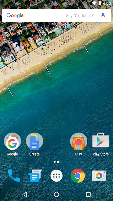 Google Now Launcher screenshots