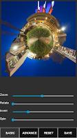 Screenshot of Tiny Planet FX Pro
