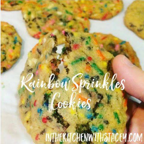 Rainbow Sprinkles Cookies