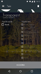 Transparent - CM13/CM12 Theme- screenshot thumbnail