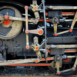 Past technology by Angga K - Artistic Objects Technology Objects ( history, abstract, rotation, train, transportation )