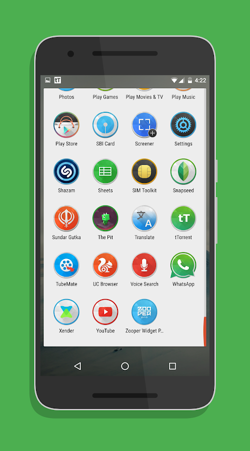 SwishHD - Icon Pack Screenshot 4