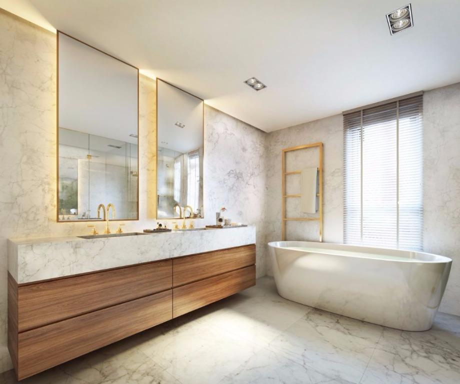 Perspectiva do Banho Casa Alecrim