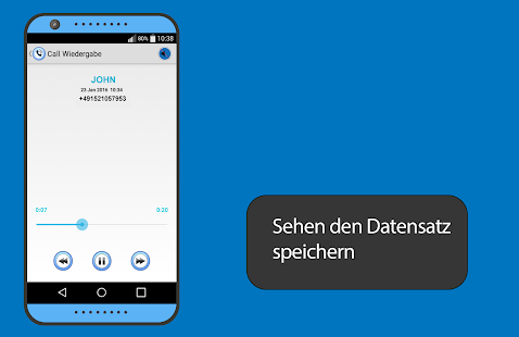 record call deutsch - screenshot
