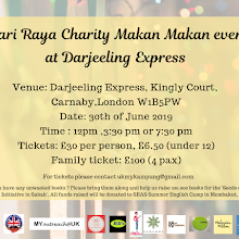 Hari Raya Charity Makan Makan Event at Darjeeling Express