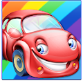 Rainbow Cars! Kids Colors Game APK for Bluestacks